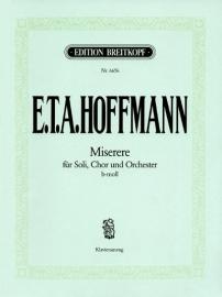 Miserere b-Moll - Ernst Hoffmann