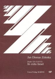 In exitu Israel g-Moll : Psalm 113 (114) - Jan Dismas Zelenka