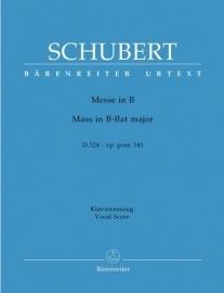 Messe B-Dur D324 oppost.141 -Schubert | Barenreiter