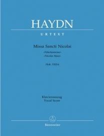 Missa Sancti Nicolai G-Dur Hob.XXII:6 -Haydn   Barenreiter