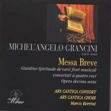 Messa breve concertata a quatro- Grancini | CD