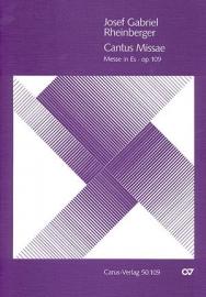 Cantus missae : Messe Es-Dur op.109 \ Rheinberger