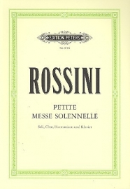 Petite Messe solenelle - Rossini | Peters