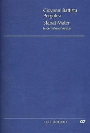 Stabat Mater (Wiener Fassung)-Pergolesi | Carus
