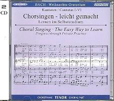 Bach - Weihnachtsoratorium BWV248 - TENOR | Oefen CD