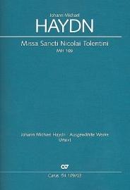 Missa Sancti Nicolai Tolentini MH109- Michael Haydn