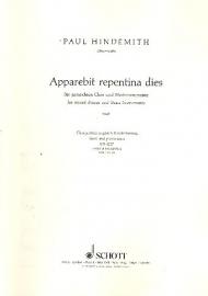 Apparebit repentina dies - Hindemith
