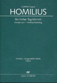 Ein hoher Tag kömmt HoWVII.9- Homilius
