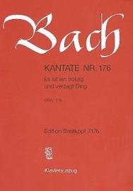 Es ist ein trotzig und verzagt Ding , Kantate 176 BWV176- Bach | Breitkopf