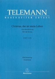 Christus der ist mein Leben TWV1:138 | Telemann