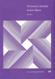 Stabat mater : für 10 Stimmen (SSSSAATTBB)-Scarlatti | Carus