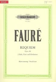 Requiem op.48 - Fauré | Peters