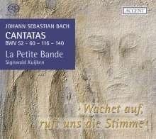 Kantaten BWV 52,60,116,140 - JS Bach | CD