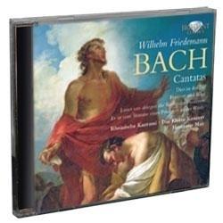 Cantatas - Wilhelm Friedeman Bach | CD