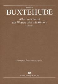 Alles was ihr tut  - Buxtehude | Carus