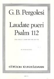 Laudate pueri : Psalm 112 -Pergolesi