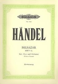 Belsazar HWV61 - Händel | Peters