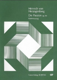 Die Passion op.93 - Herzogenberg