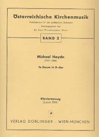 Te Deum D-Dur- Michael Haydn | Doblinger
