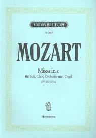 Messe c-Moll KV427 - Mozart | Breitkopf