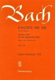 Gottes Zeit ist die allerbeste Zeit / Nr.106 BWV106 - Bach | Breitkopf