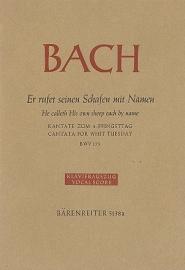 ER RUFET SEINEN SCHAFEN MIT NAMEN - Bach | Barenreiter