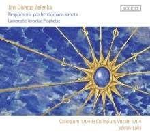 Responsoria pro Hebdomada Sancta ZWV 55 - Zelenka | CD