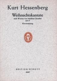 WEIHNACHTSKANTATE - Kurt Hessenberg