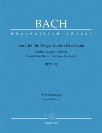 Bereitet die Wege bereitet die Bahn , Kantate 132 BWV132 - Bach | Barenreiter