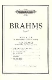 Brahms -4 Gesänge op.17-  | Peters