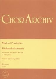 Weihnachtskonzerte - Praetorius | Barenreiter