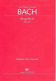 Magnificat D-Dur WQ215 -CFE Bach   Carus
