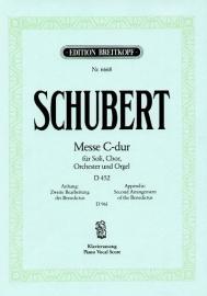 Messe C-Dur op.48 D452- Schubert | Breitkopf