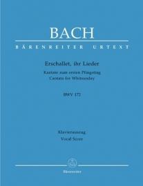 Erschallet ihr Lieder - Kantate 172 BWV172 - Bach | Barenreiter