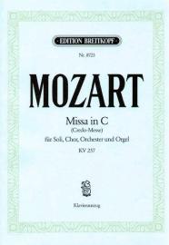 Missa brevis C-Dur KV257 ( Credo-Messe)- Mozart| Breitkopf