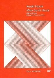 Missa sancti Nicolai G-Dur Hob.XXII:6-Haydn  Carus