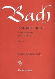 Gott fähret auf mit Jauchzen , Kantate 43 BWV43 - Bach | Breitkopf