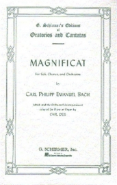 Magnificat- Carl Ph.Bach   Schirmer