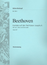 Kantate auf den Tod Kaiser Josephs II. WoO87-Beethoven