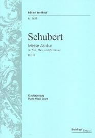 Messe As-Dur D678 - Schubert | Breitkopf