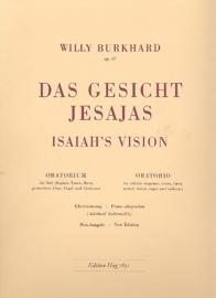 Das Gesicht Jesajas op.41 - Burkhard