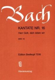 Herr Gott dich loben wir /Kantate 16 BWV16- Bach | Breitkopf