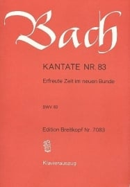 Erfreute Zeit im neuen Bunde/ Kantate Nr.83 BWV83 - Bach | Breitkopf