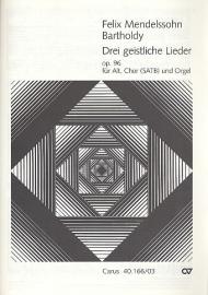 3 geistliche Lieder op.96 - Mendelssohn | Carus