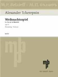 WEIHNACHTSSPIEL OP.74 - Tcherepnin