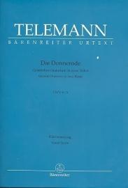 Die Donnerode TWV6:3- Telemann | Barenreiter