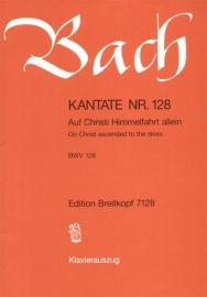 Auf Christi Himmelfahrt allein , Kantate 128 BWV128- Bach | Breitkopf