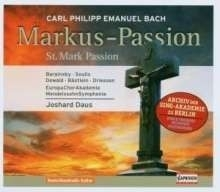 Markus Passion | C.P.E. Bach | CD