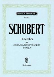 Hirtenchor D797,7- Schubert | Breitkopf