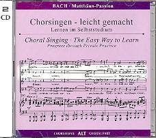Bach -Matthäus-Passion BWV244 | ALT | Oefen CD